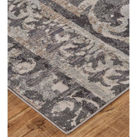 Feizy Rug Kano 3871F, Charcoal/Ivory - Rugs1 - High Fashion Home