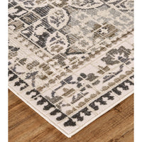 Feizy Rug Kano 3874F, Gray/Ivory - Rugs1 - High Fashion Home