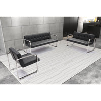 Varietal Sofa, Black - Furniture - Chaises & Benches
