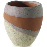 Parker Pot - Accessories - Tabletop - White & Natural