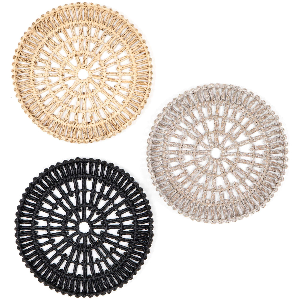 Alyah Trays, Set of 3 - Accessories Artwork - High Fashion Home