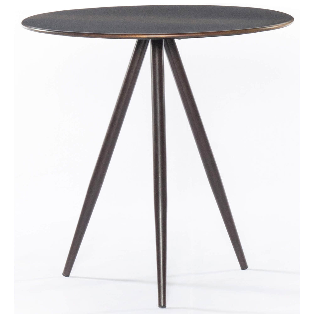 Amira End Table, Distressed Ombre