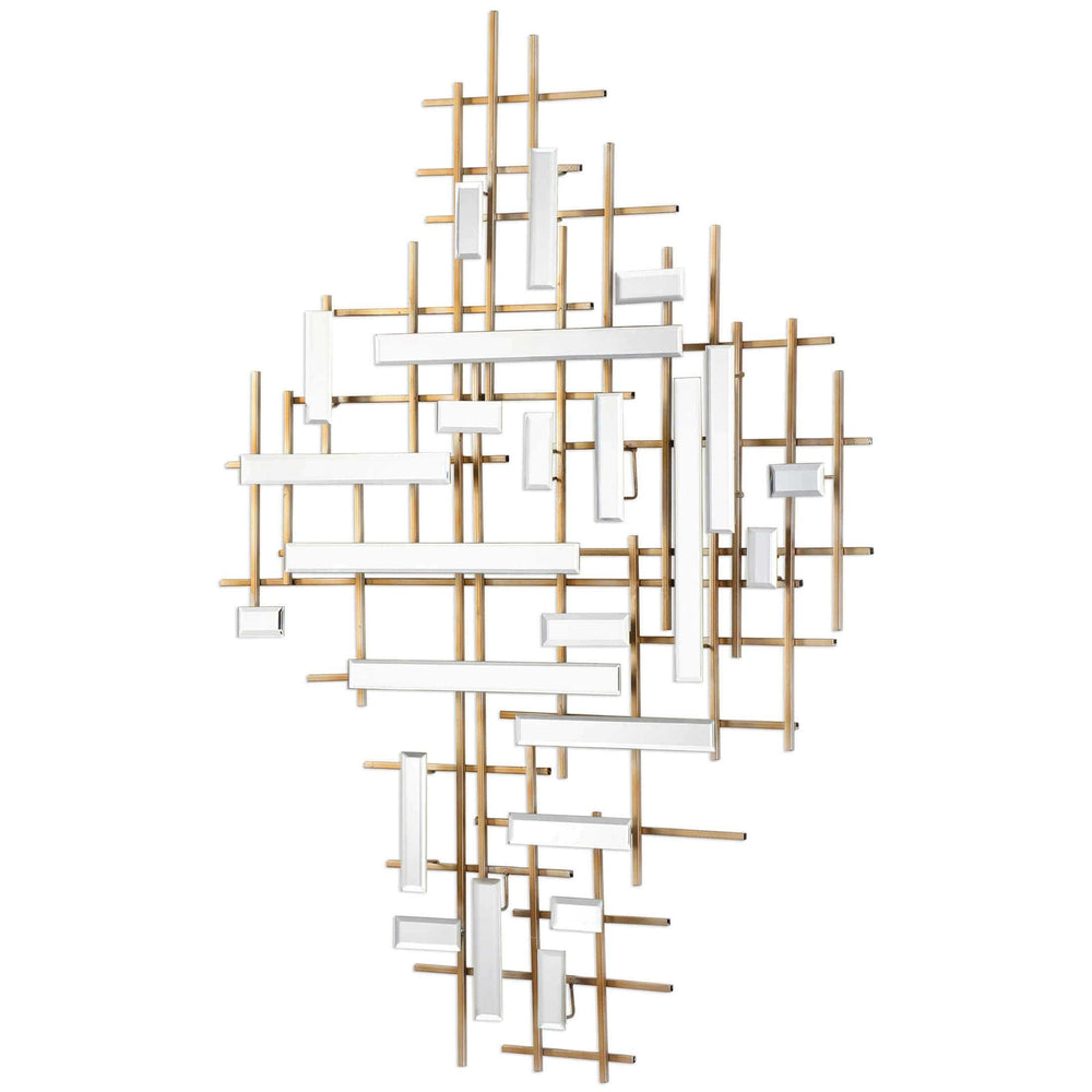 Apollo Mirrored Wall Decor - Accessories - High Fashion Home