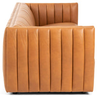 Augustine Leather Sofa, Hudson Lager - Modern Furniture - Sofas - High Fashion Home