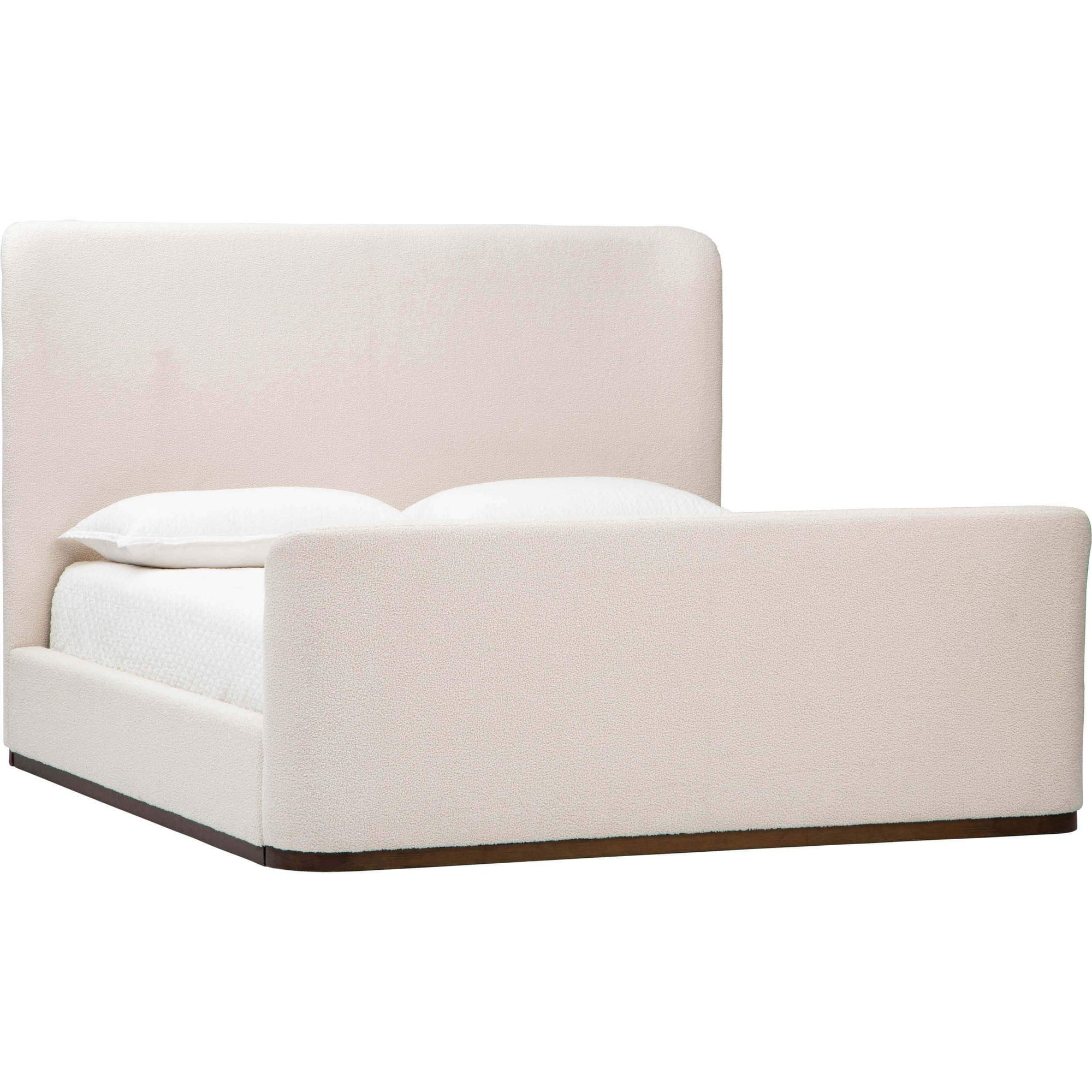 Avery Bed Ivory Cloud High Fashion Home