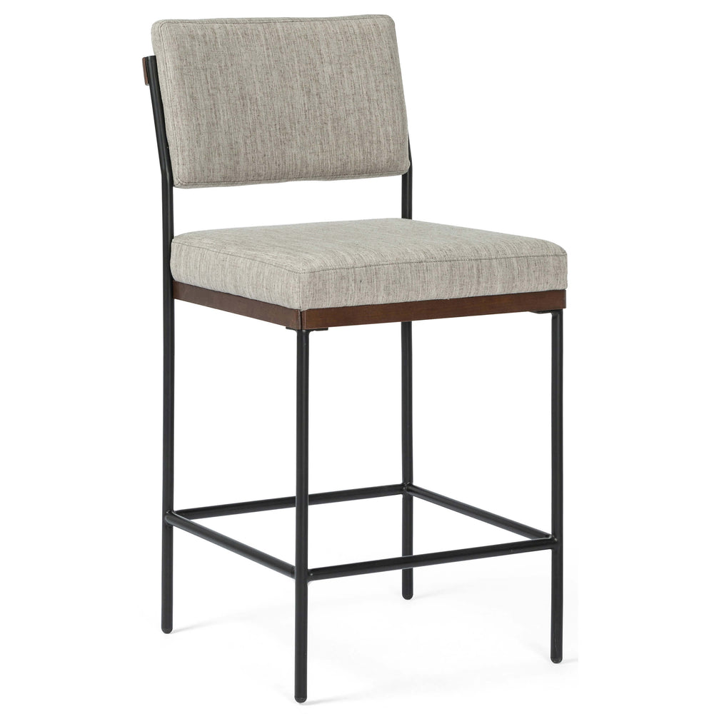Benton Counter Stool, Savile Flannel