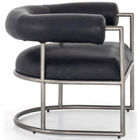 Bettie Chair, Harness Black - Modern Furniture - Accent Chairs - High Fashion Home
