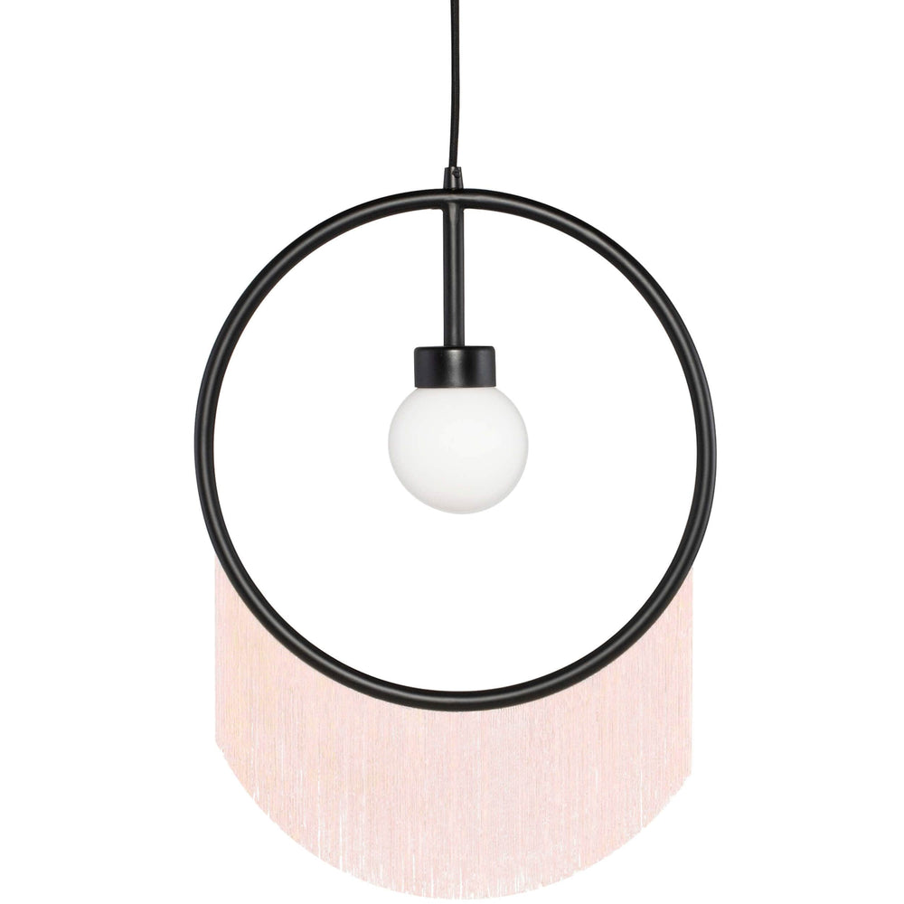 Blanca Pendant, Blush - Lighting - High Fashion Home