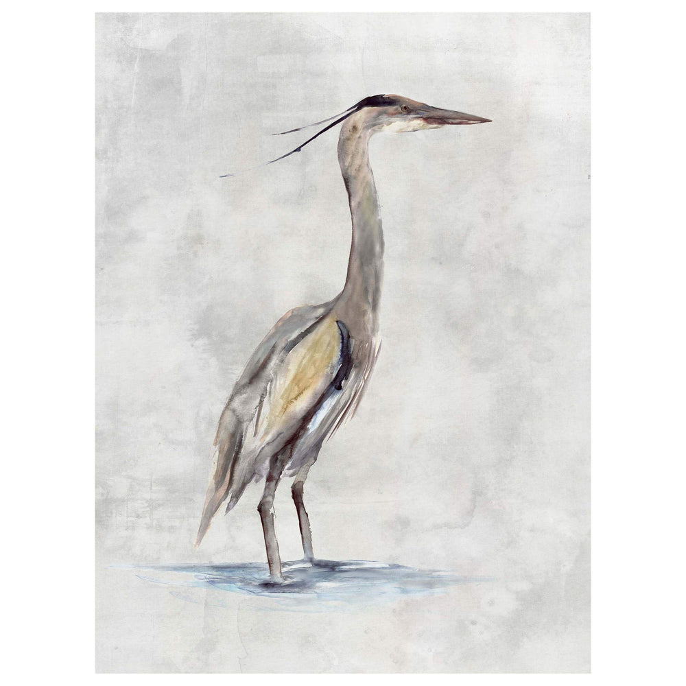 Blue Heron II - Accessories Artwork - High Fashion Home
