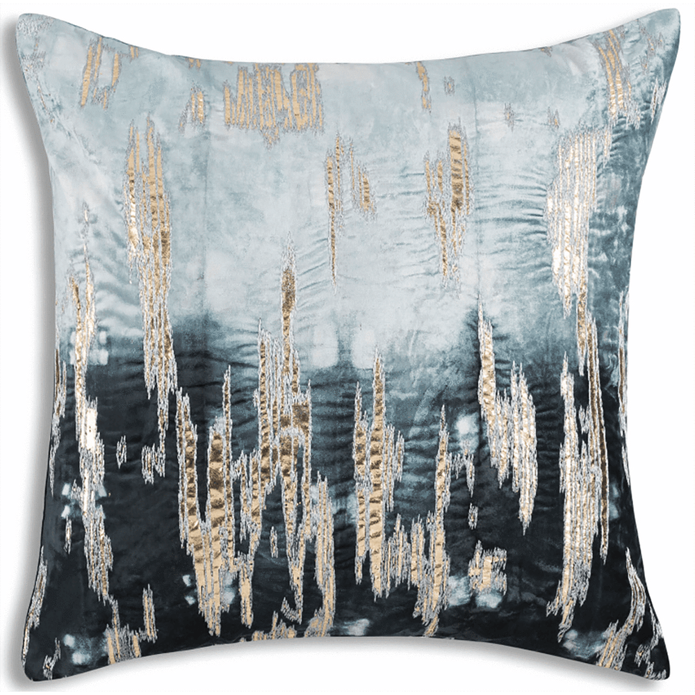 Cloud 9 Boheme Navy Ombre Pillow - Accessories - High Fashion Home