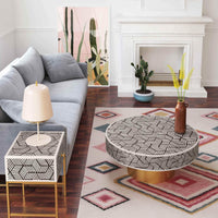 Bone Inlay Side Table - Furniture - Accent Tables - High Fashion Home
