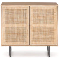 Carmel Small Cabinet, Natural Mango - Furniture - Storage - High Fashion Home