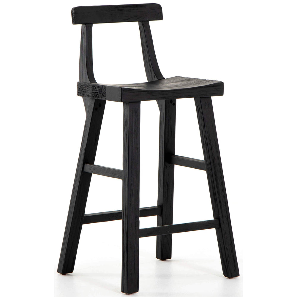 Cassell Counter Stool, Black - Furniture - Dining - High Fashion Home