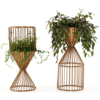 Chelsia Reversible Plant Stand - Accessories - High Fashion Home