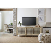 Ciao Bella Entertainment Console, Flaky White - Furniture - Accent Tables - High Fashion Home