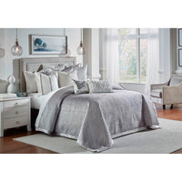 Cloud 9 Amani Coverlet Set, Grey - Accessories - High Fashion Home