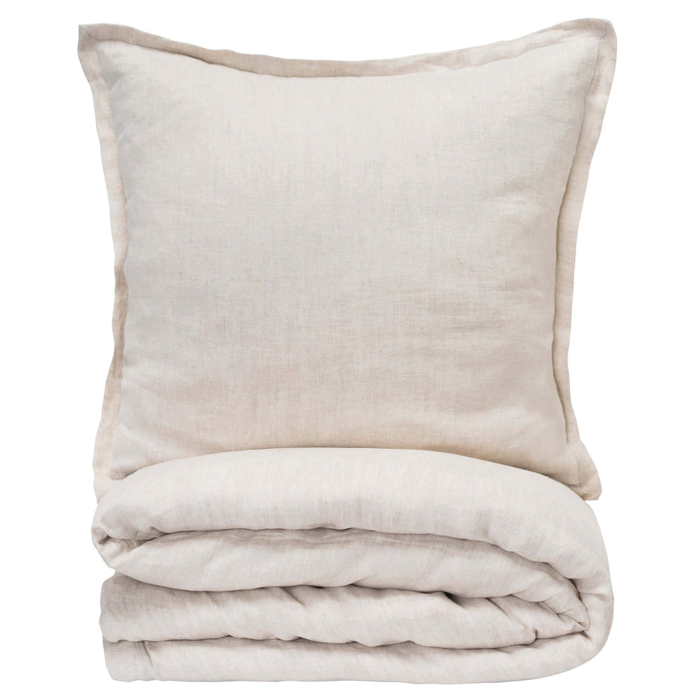 Cloud 9 Iris Duvet, Natural - Accessories - High Fashion Home