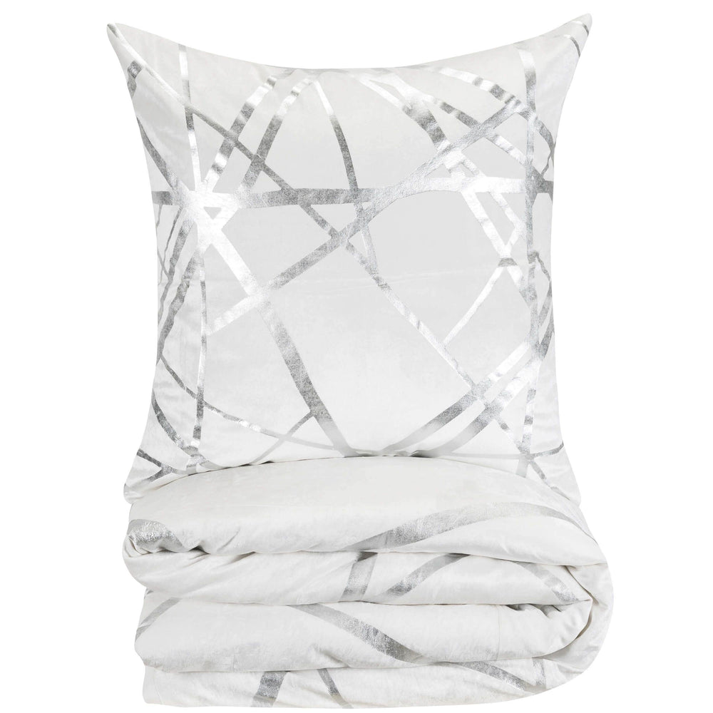 Cloud 9 Rica Duvet, Ivory - Accessories - High Fashion Home