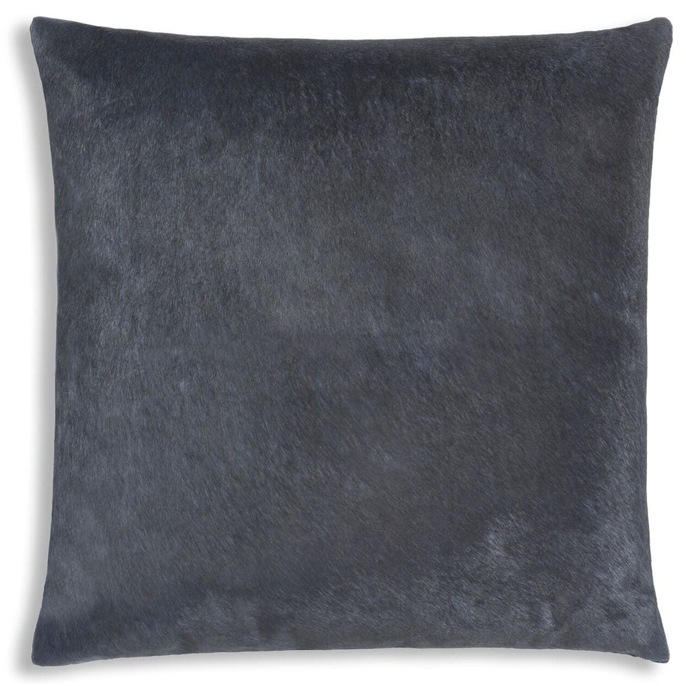 Cloud 9 Lagos Hide Pillow, Navy - Accessories - High Fashion Home