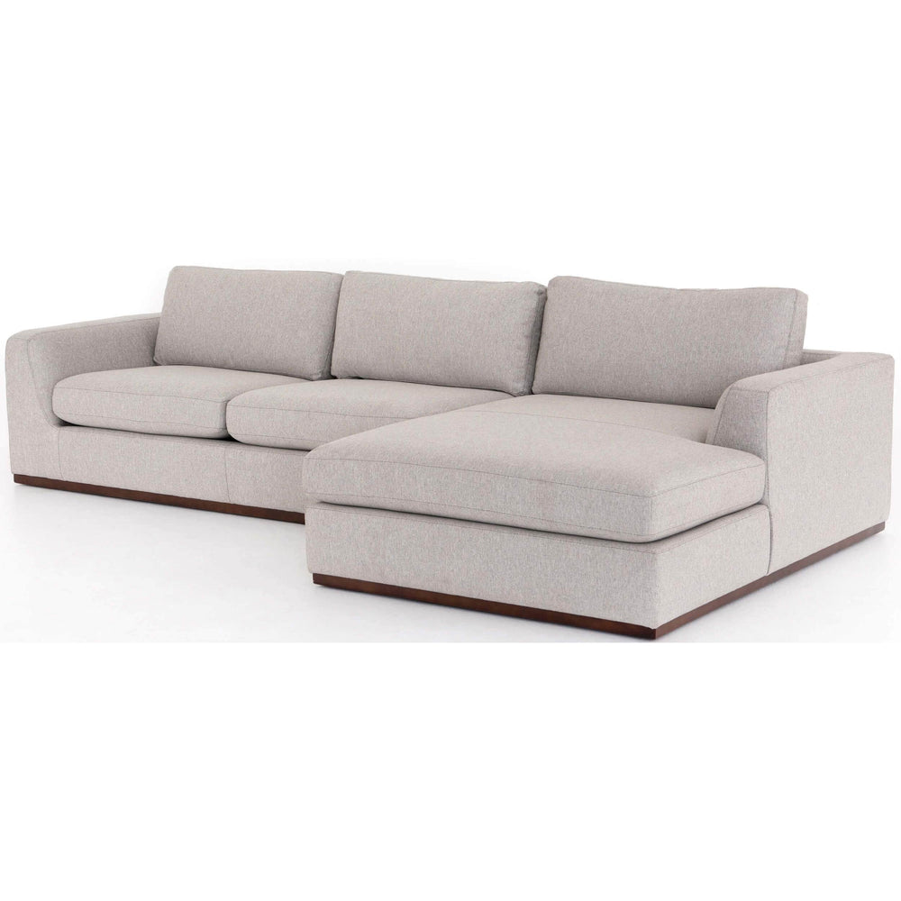 Colt RAF Sectional, Aldred Silver - Modern Furniture - Sectionals - High Fashion Home