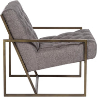 Colton Chair, Textured Concrete - Modern Furniture - Accent Chairs - High Fashion Home