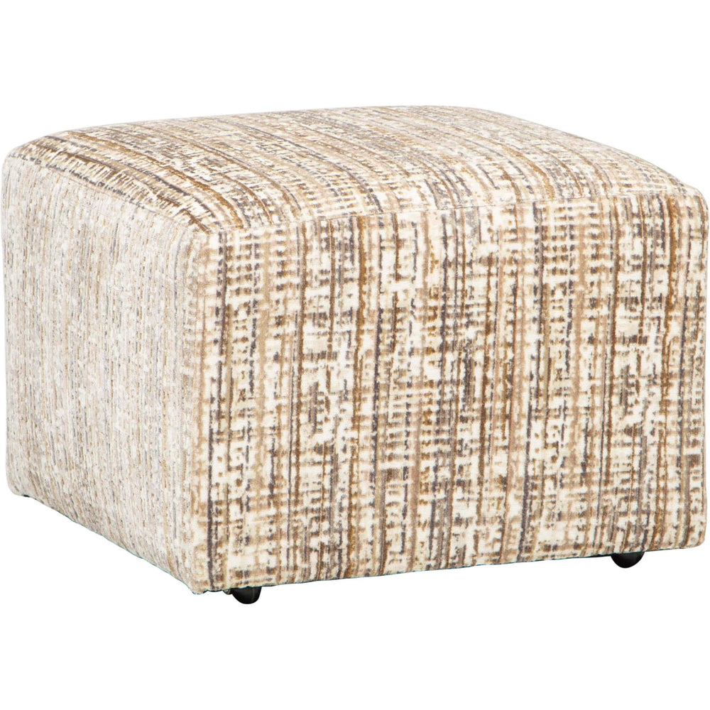 Corbin Ottoman, Tourist Sandstone - Furniture - Chairs - High Fashion Home