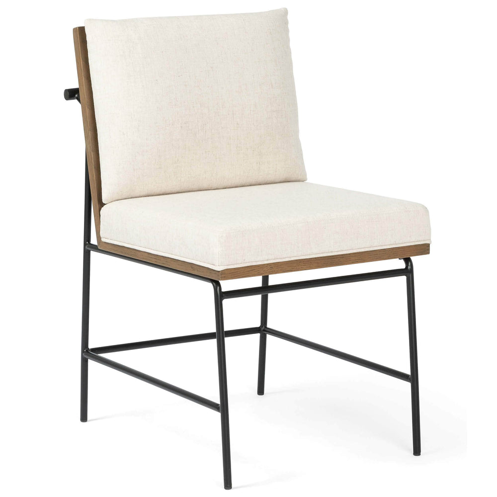 Crete Dining Chair, Savile Flax, Set of 2