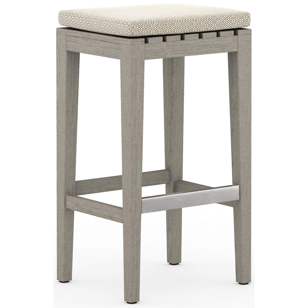 Dale Outdoor Bar Stool, Faye Sand - Furniture - Dining - High Fashion Home