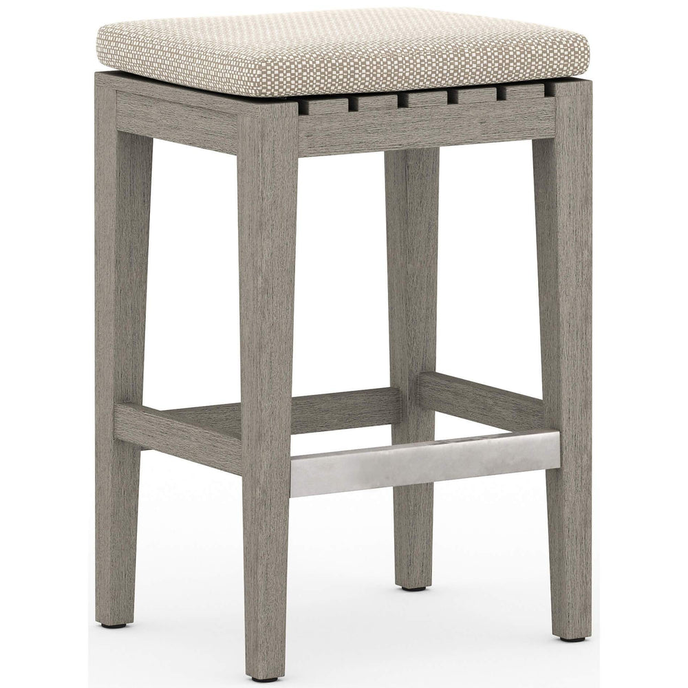 Dale Outdoor Counter Stool, Faye Sand - Furniture - Dining - High Fashion Home
