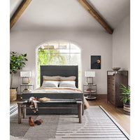 Daphne Bed, San Remo Ash - Modern Furniture - Beds - High Fashion Home