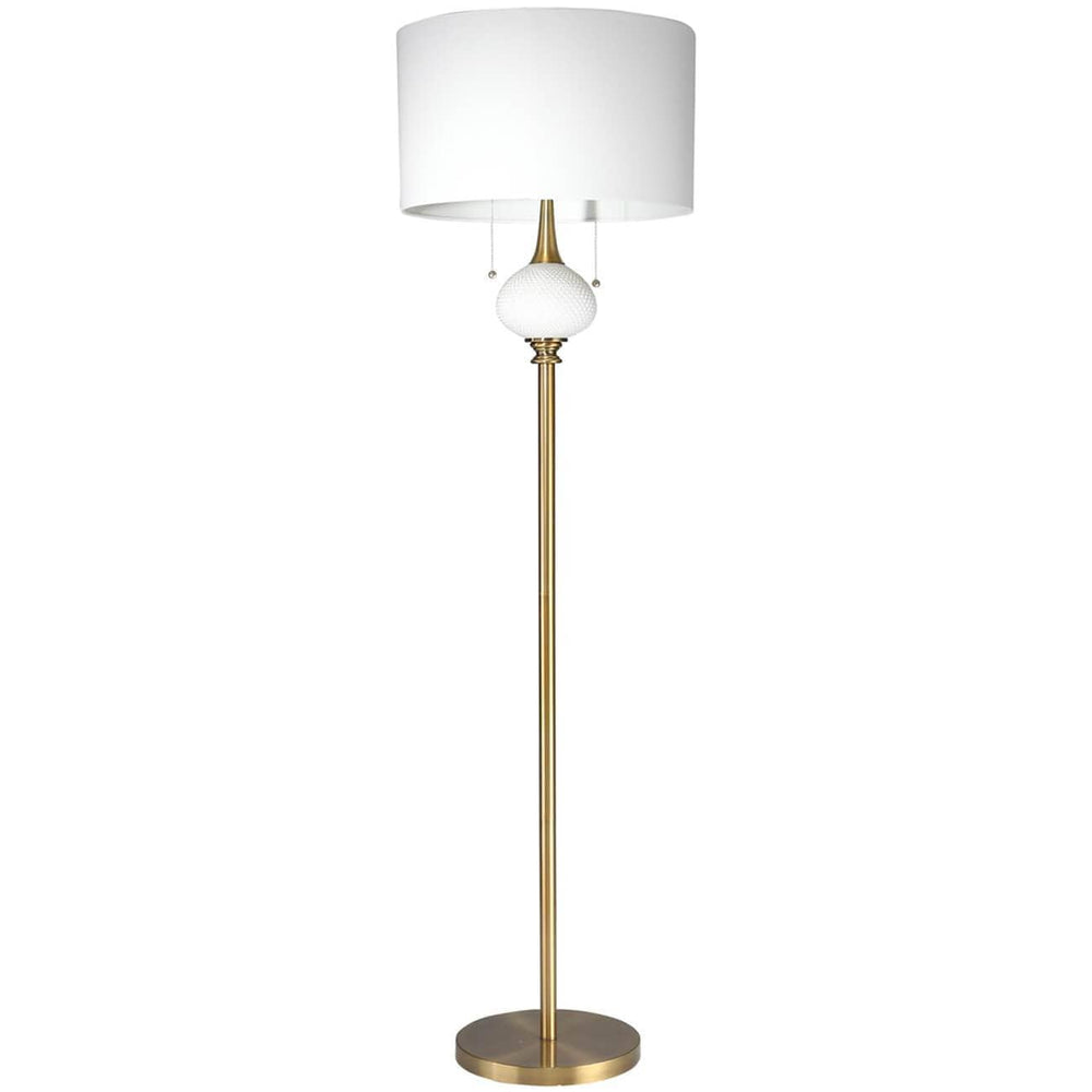 Decorative Globe Floor Lamp, Gold - Lighting - High Fashion Home