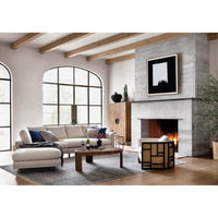 Dom LAF Sectional, Bonnell Ivory - Modern Furniture - Sectionals - High Fashion Home