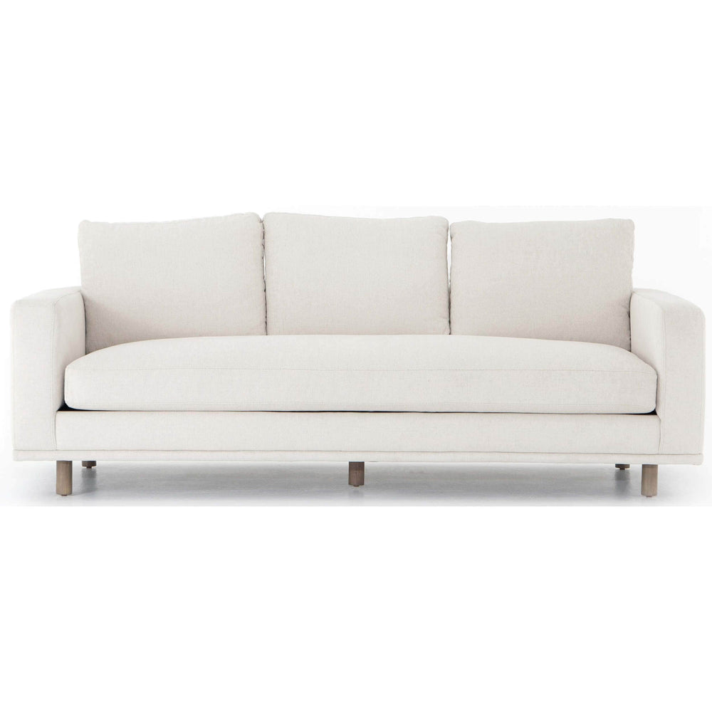 Dom Sofa, Bonnell Ivory - Modern Furniture - Sofas - High Fashion Home