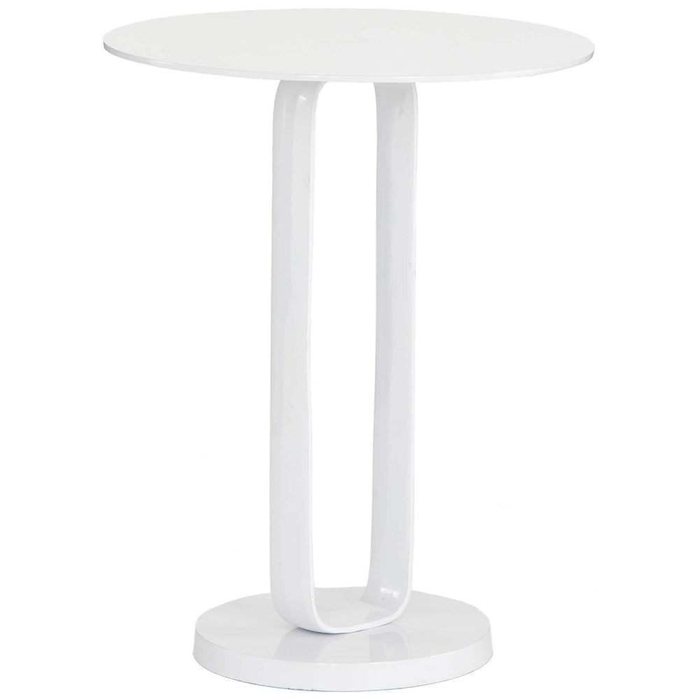 Douglas End Table, White - Furniture - Accent Tables - High Fashion Home