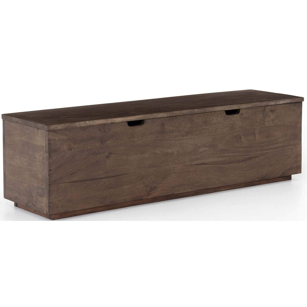 Duncan Trunk, Aged Brown - Furniture - Storage - High Fashion Home