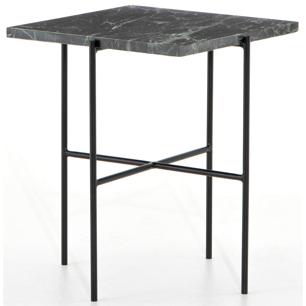 Durant End Table, Dark Green - Furniture - Accent Tables - High Fashion Home
