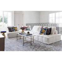 Element Club Chair, Sherpa White - Modern Furniture - Accent Chairs - High Fashion Home