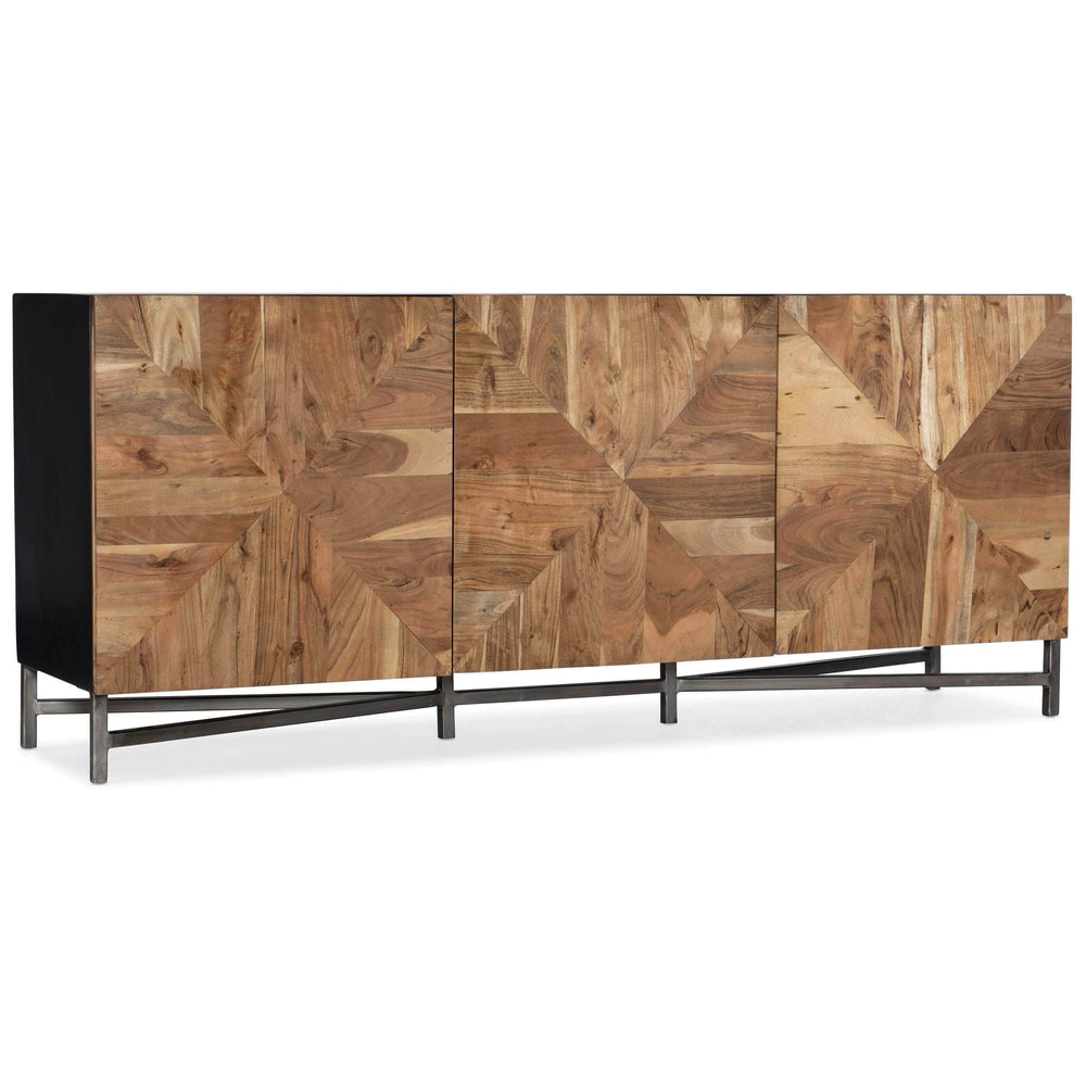 Ely Entertainment Console - Furniture - Accent Tables - High Fashion Home
