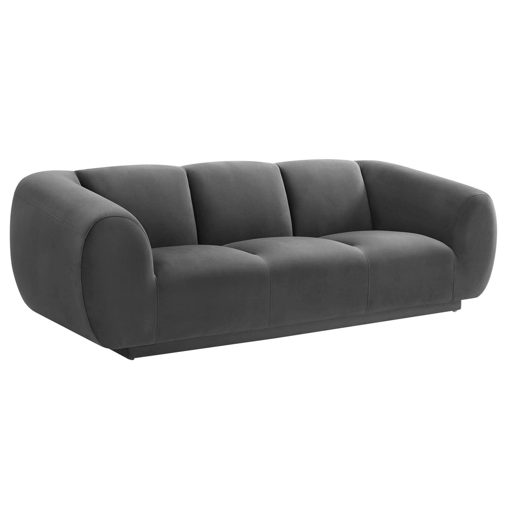 Emmet Sofa, Grey - Furniture - Sofas - High Fashion Home