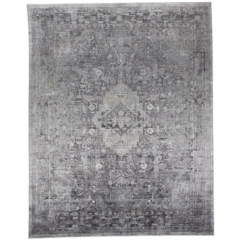 Feizy Rug Sarrant 3966F, Gray - Rugs1 - High Fashion Home