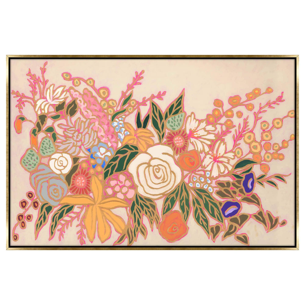From a Flower Garden II Framed - Accessories Artwork - High Fashion Home