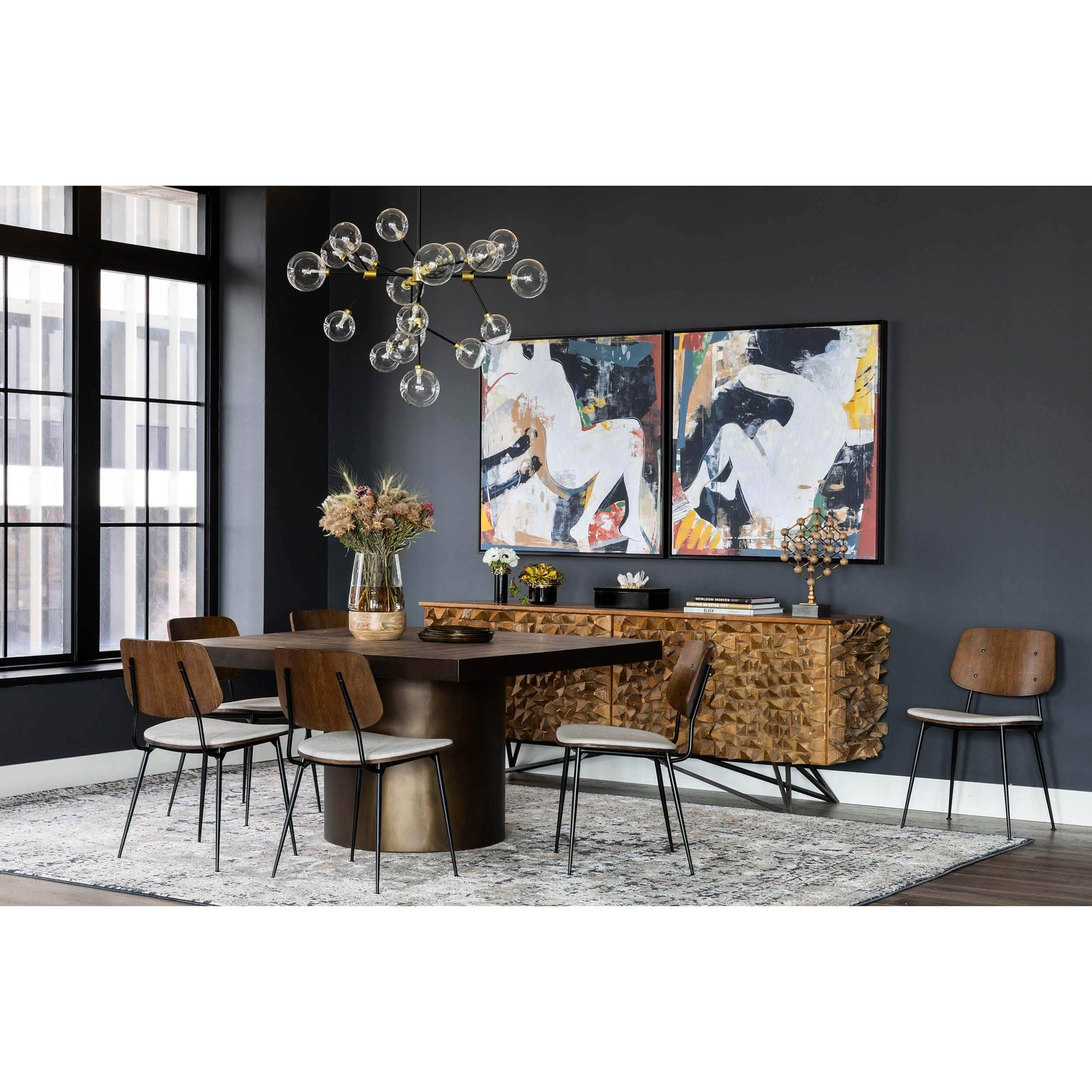 Gabrielle Square Dining Table High Fashion Home