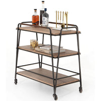 Garland Bar Cart - Furniture - Dining - High Fashion Home