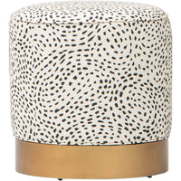 Gigi Swivel Ottoman, 11478-08 - Furniture - Chairs - High Fashion Home
