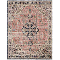 Loloi Magnolia Home Rug Graham GRA-06 MH, Coral/Navy - Rugs1 - High Fashion Home