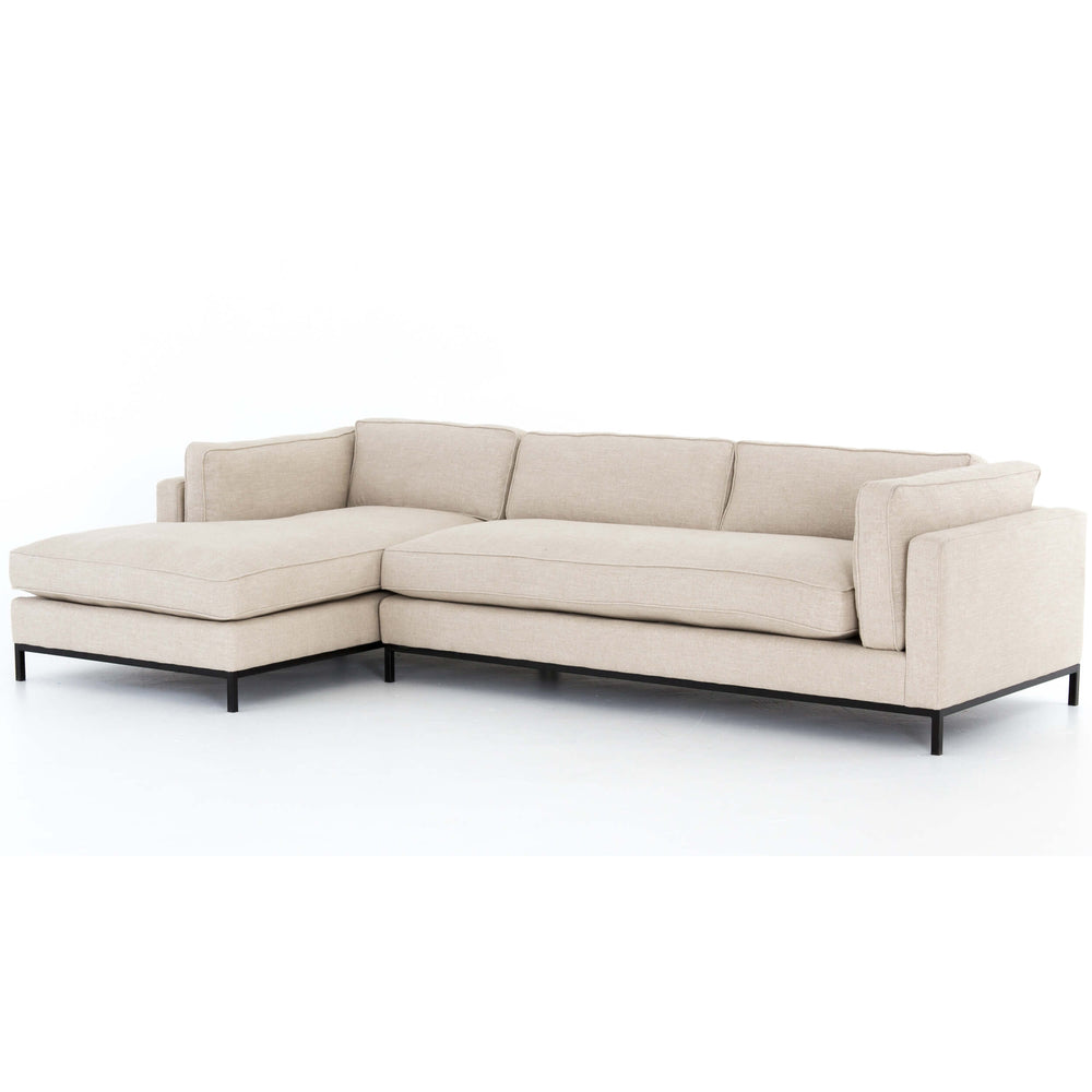 Grammercy LAF Sectional, Oak Sand