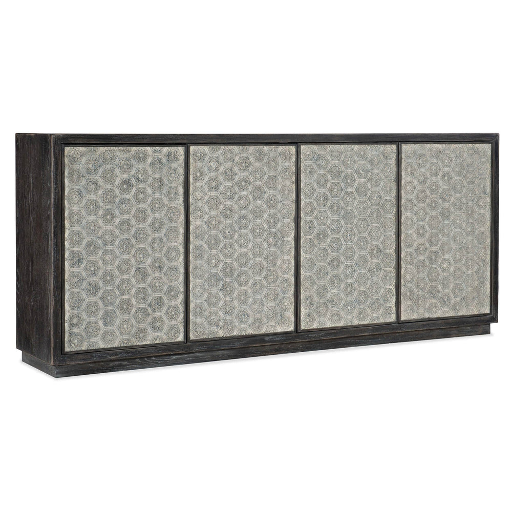 Greystone 4 Door Credenza - Furniture - Storage - High Fashion Home