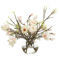 Japanese Magnolia in Glass Bubble - Accessories - High Fashion Home