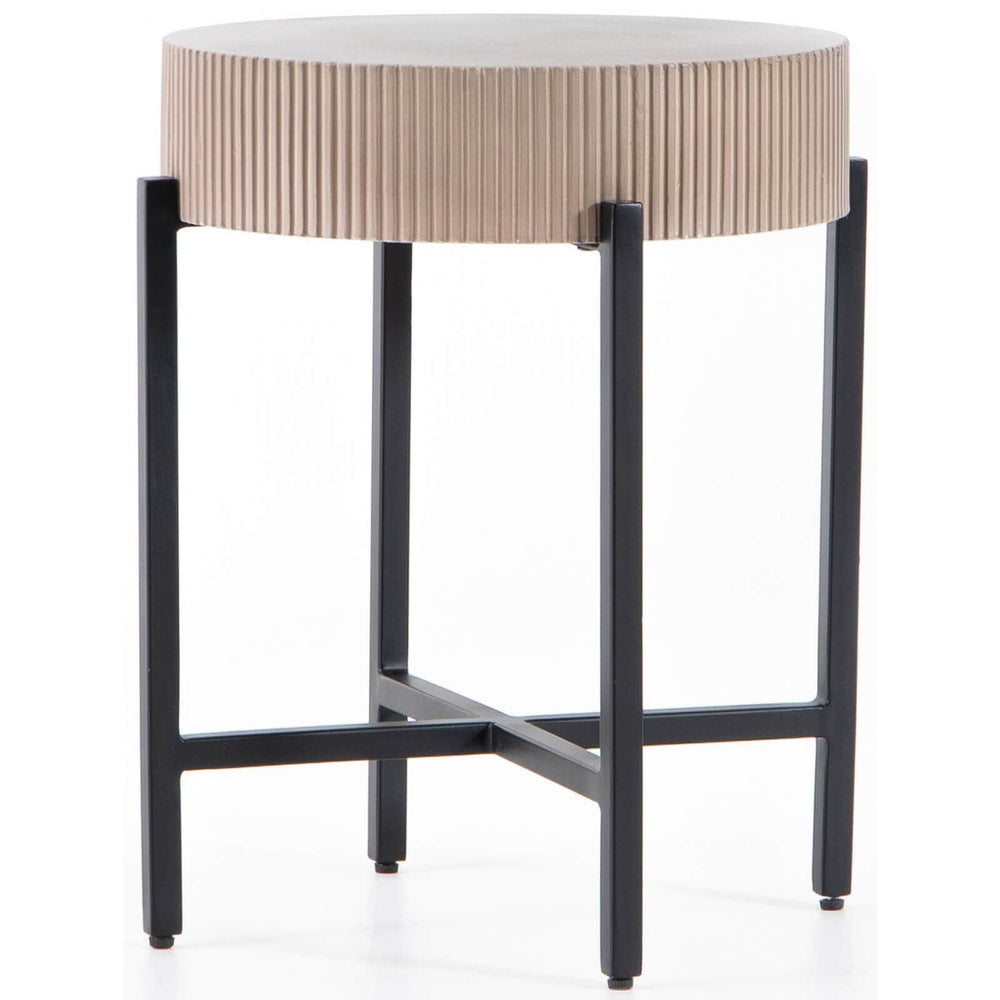 Jolene Outdoor End Table - Furniture - Accent Tables - High Fashion Home