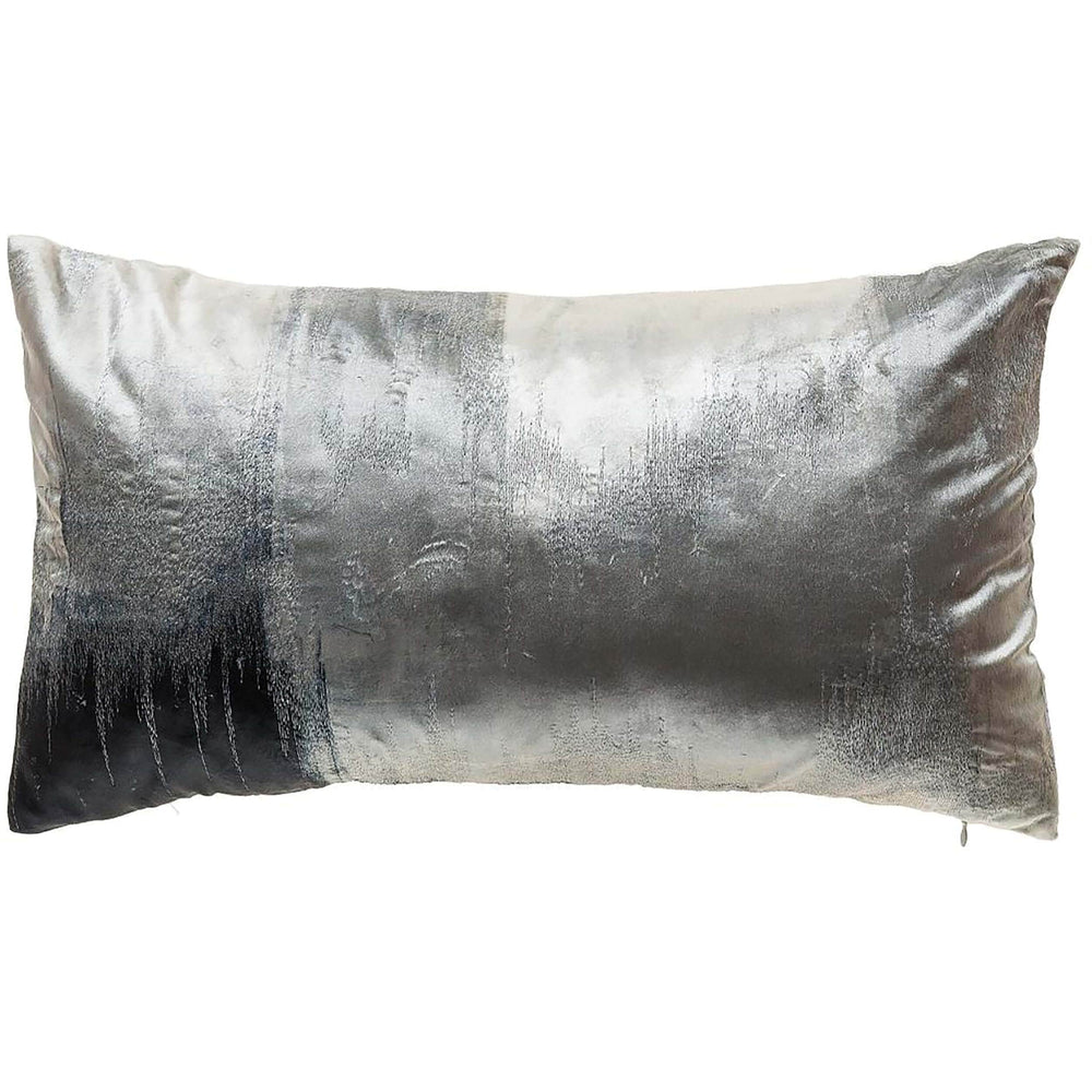 Cloud 9 Lapis Lumbar Pillow, Grey - Accessories - High Fashion Home